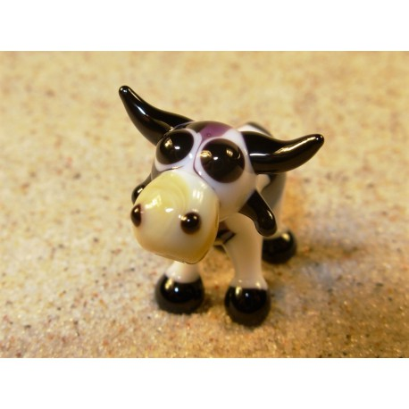 kráva černobílá