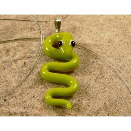 mamba zelená  - přívěsek
