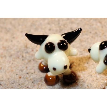 kráva béžová