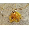 chobotnice žlutá - přívěsek