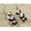 panda - náušnice