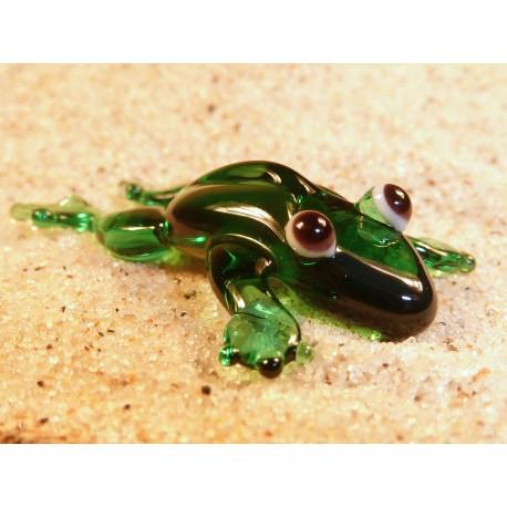 žába natažená
